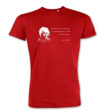Secret To Creativity Einstein premium t-shirt