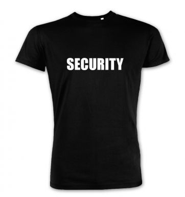 Security  premium t-shirt