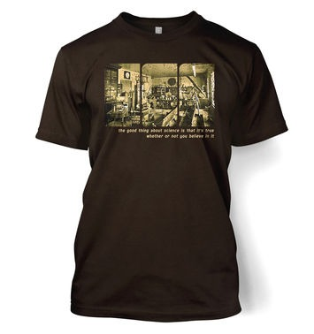Sepia Science Lab t-shirt