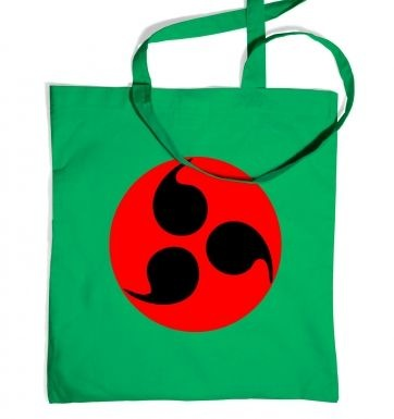 Sharingan Eye tote bag