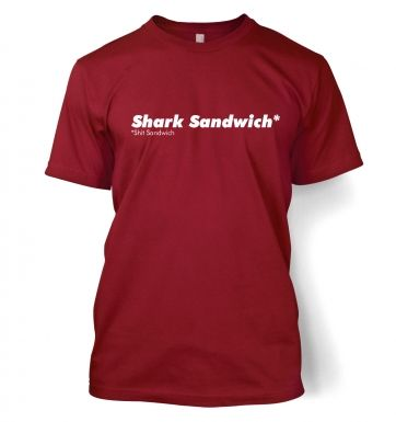 Shark Sandwich Adult T shirt