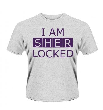 Sherlock I Am Sher Locked men's t-shirt - Official