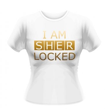 Sherlock I Am Sher Locked women's t-shirt - Official