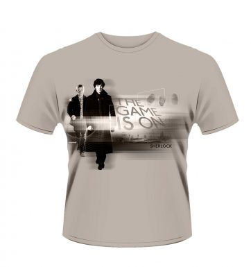 Sherlock The Game Is On men's t-shirt - Official