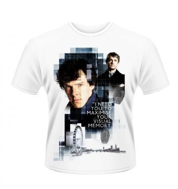 Sherlock Visual Memory men's t-shirt - Official