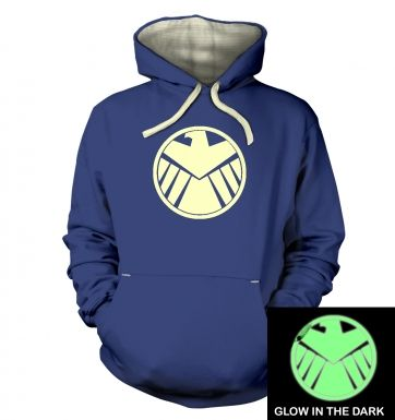Shield (glow in the dark) hoodie (premium)