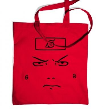 Shikamaru Face  tote bag