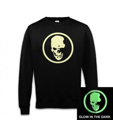 Shinigami Skull (glow in the dark) sweatshirt