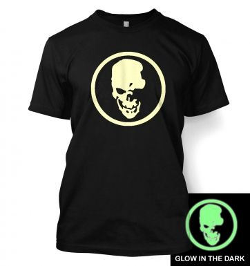 Shinigami Skull (glow in the dark) t-shirt