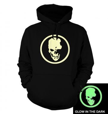 Shinigami Skull (glow in the dark) hoodie