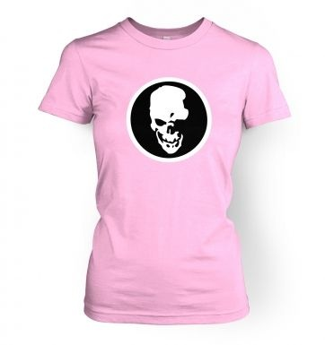 Shinigami Skull women's t-shirt