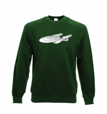 Silver Starship Enterprise sweatshirt