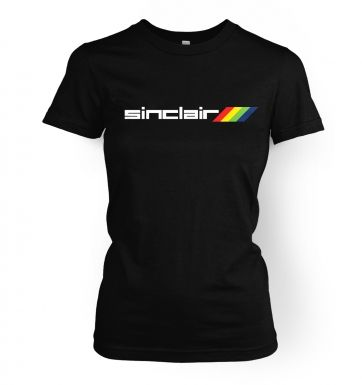 Sinclair Logo  womens t-shirt