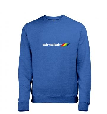 Sinclair Logo heather sweatshirt