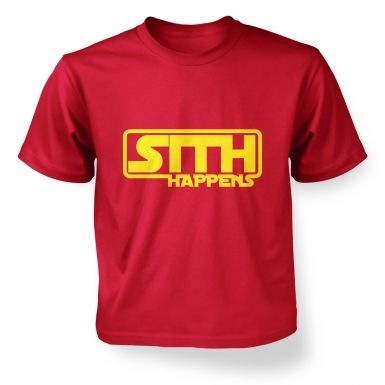 Sith Happens Kids T shirt