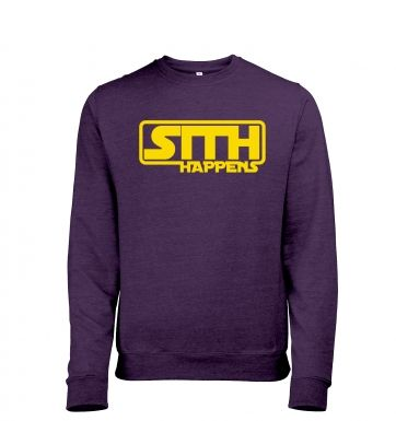 Sith Happens heather sweatshirt