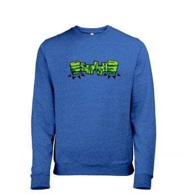 SMASH Fists heather sweatshirt