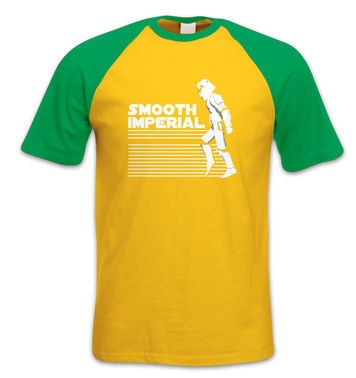 Smooth Imperial short-sleeved baseball t-shirt