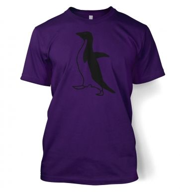 Socially awkward penguin men's t-shirt
