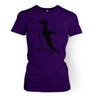 Socially awkward penguin  womens t-shirt