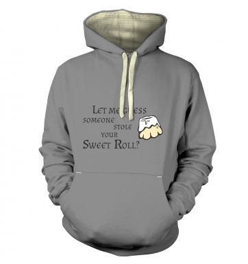 Someone Stole Your Sweetroll premium hoodie 