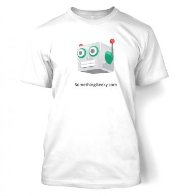 Something Geeky Robot t-shirt