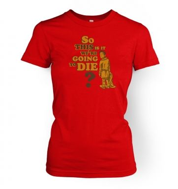 So This Is It women's fitted t-shirt