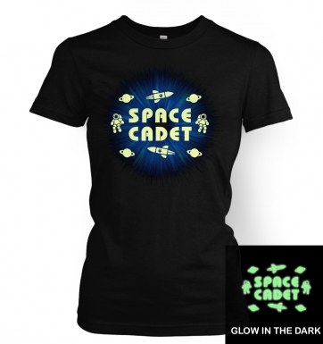 Space Cadet (hybrid glow in the dark) women's t-shirt