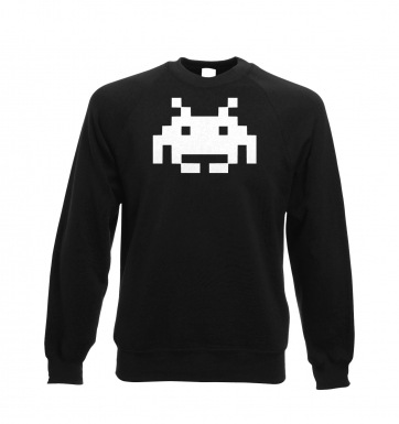 Alien Invader Pixel Art sweatshirt