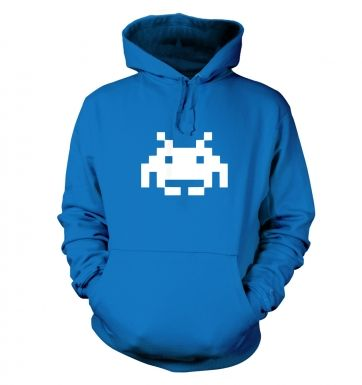 Alien Invader Pixel Art hoodie 