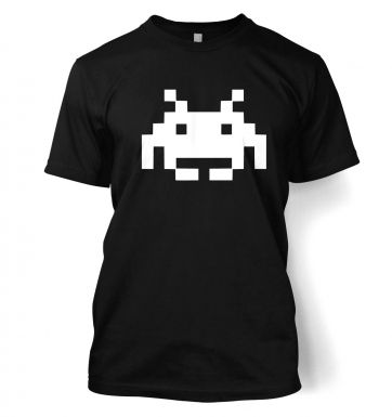 Alien Invader Pixel Art men's t-shirt