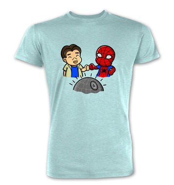 Spider-Man Death Star premium t-shirt