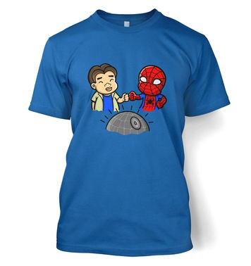 Spider-Man Death Star t-shirt