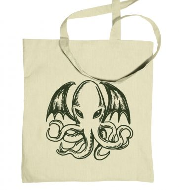 Squid Monster tote bag