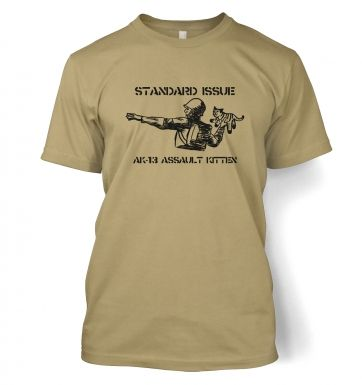 Standard Issue AK13 Assault Kitten t-shirt