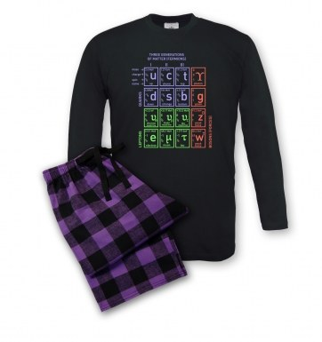 Standard Model Of Particle Physics pyjamas (men's)