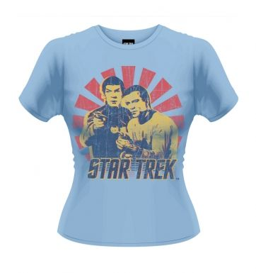 Star Trek Kirk & Spock women's t-shirt - Official