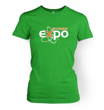 Stark Expo womens fitted t-shirt