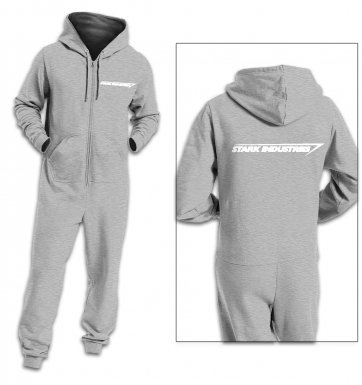 Stark industries adult onesie
