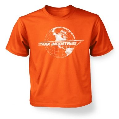 Stark Industries Globe kids' t-shirt