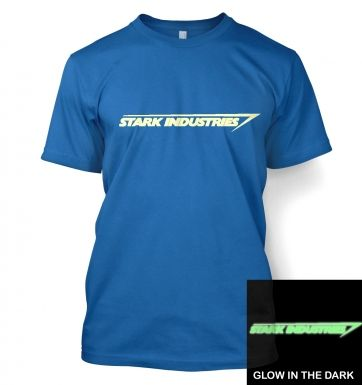 Stark Industries (glow in the dark) t-shirt