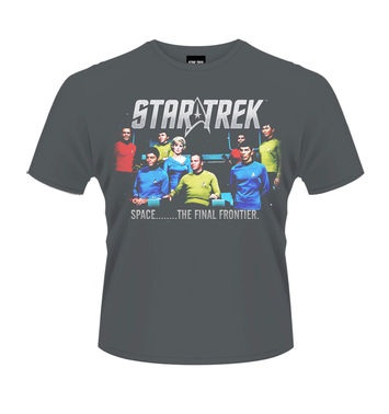 Star Trek Final Frontier t-shirt OFFICIAL