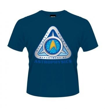 Star Trek Starfleet Academy Astrophysics t-shirt OFFICIAL