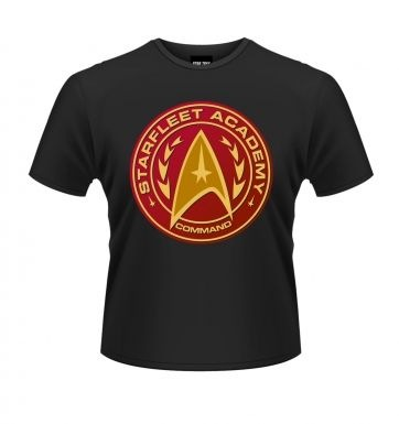 Star Trek Starfleet Academy Command t-shirt OFFICIAL