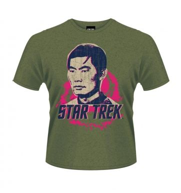 Star Trek Sulu t-shirt OFFICIAL