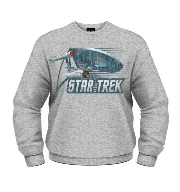 Star Trek Vintage Starship Enterprise sweatshirt OFFICIAL