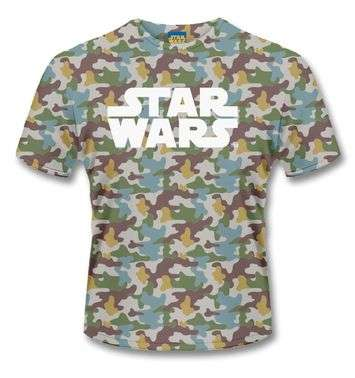 Star Wars Boba Fett Camo t-shirt