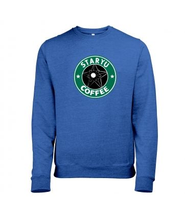 Staryu Coffee Mens Heather Sweatshirt