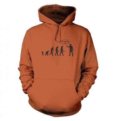 Stop following me! evolution hoodie