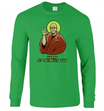 St. Patrick's long-sleeved t-shirt